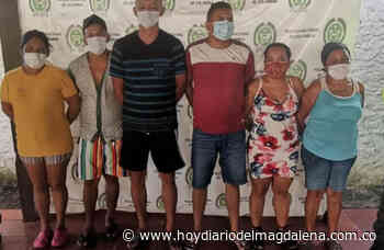 Juez dejó libres a 'Los Calillosos' en Chibolo - HOY DIARIO DEL MAGDALENA