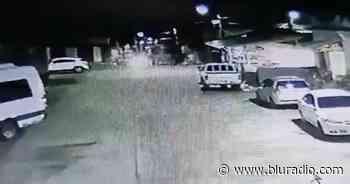 Video: atacan con petardo estación de Policía en zona rural de Riofrío, Valle - Blu Radio