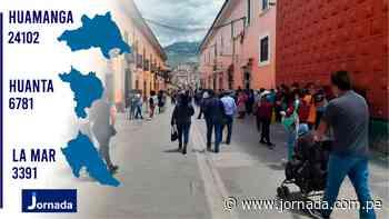 Huamanga, Huanta y La Mar registran más casos de la COVID - Jornada