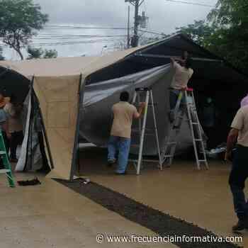 Instalan hospital campaña en Chiriquí, ante eventual tercera ola de covid-19 - Chiriquí - frecuenciainformativa.com
