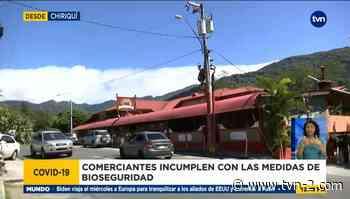 Comercios en Chiriquí son detectados incumpliendo medidas de bioseguridad - TVN Panamá