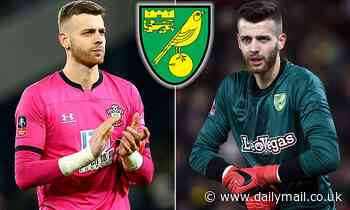 Goalkeeper Angus Gunn poised to rejoin Norwich City from Southampton in £10m deal