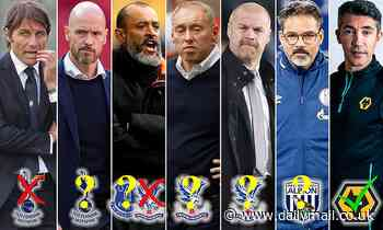 Premier League: The new runners and riders for Tottenham, Everton and Crystal Palace jobs