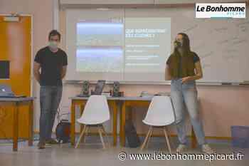 Liancourt : Aurélien, ex-aventurier de Koh Lanta, est venu parler écologie - Le Bonhomme Picard