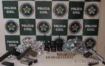 Polícia apreende adolescente com drogas e armas em Barra do Piraí - Jornal O Dia