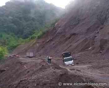 Vía Dabeiba-Mutatá permanece cerrada por fuertes lluvias - El Colombiano
