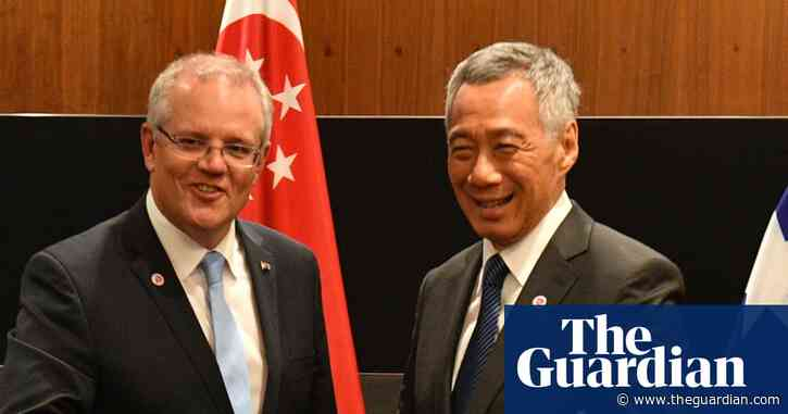 Australia to discuss travel bubble with Singapore as leaders meet ahead of G7