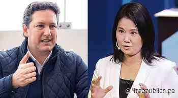 Elecciones 2021, Daniel Salaverry sobre Keiko Fujimori: Se le ha caído la careta, estamos repitiendo lo del 2 - LaRepública.pe