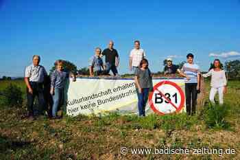 Initiativen gemeinsam gegen den Weiterbau der B 31 West - Gottenheim - Badische Zeitung