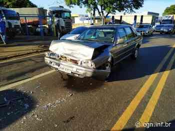 Acidente entre três veículos em Apucarana deixa um ferido - CGN