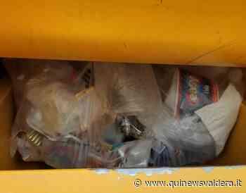 La spazzatura nel cassonetto degli abiti usati - Qui News Valdera