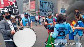 Movimientos sociales volvieron a protestar en Lomas de Zamora - InfoRegión