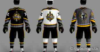 Neepawa MJHL hockey team changes its name to Titans - Global News