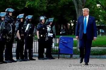 Federal probe: Protest not broken up due to Trump photo op