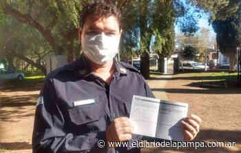 Comenzó la vacunación a los bomberos voluntarios de General Pico - El Diario de La Pampa