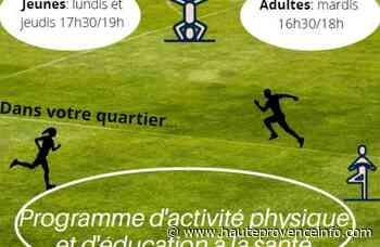 Digne-les-Bains : Opération Prends tes baskets, et pas la tête - Haute-Provence Info