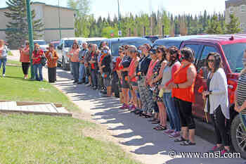 50 attend smudge at Hay River's Soaring Eagle for Kamloops residential school children - Northern News Services