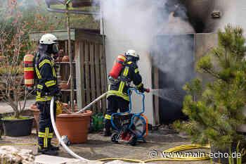Feuer in Bürogebäude: Brand in Gärtnerei in Seligenstadt - Main-Echo