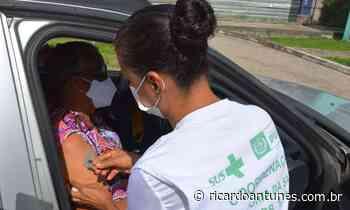 Pessoas com 55 anos ou mais já podem se vacinar em Ipojuca - Blog do Ricardo Antunes