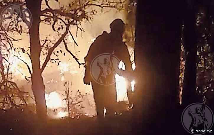 Sólo 70 personas luchan para extinguir incendio en Casas Grandes - El Diario