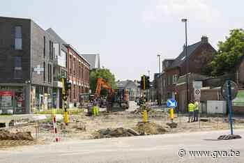 Vernieuwing kruispunt Grote Steenweg geeft aanzet voor beter... (Kontich) - Gazet van Antwerpen