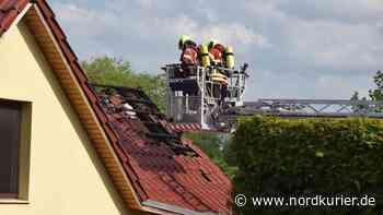 Haus in Altentreptow nach Brand nicht bewohnbar - Nordkurier