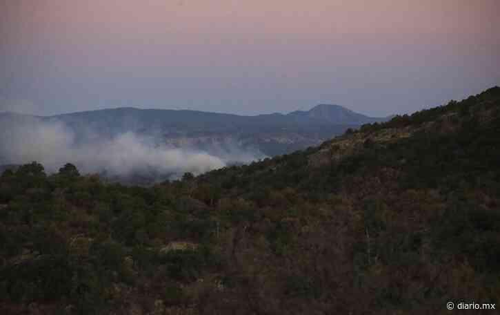Video: Mantiene en jaque a brigadistas incendio en Casas Grandes - El Diario