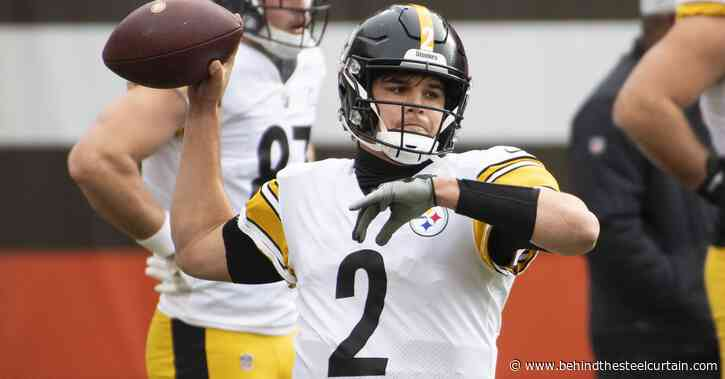 Mason Rudolph is right, he should get first crack to become the Steelers next QB