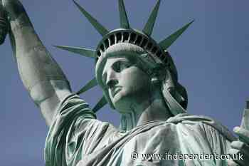 France sends a second statue of liberty to US