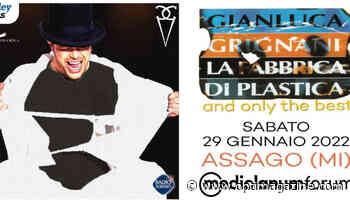 Gianluca Grignani al Forum di Assago nel 2022: i prezzi dei biglietti - OptiMagazine
