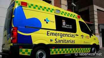 Herida una mujer al ser atropellada en Santa María del Páramo - La bañeza