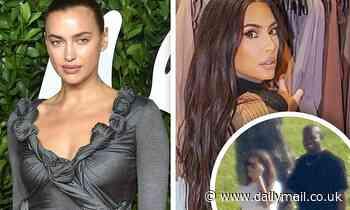Ex factor! A look back at how Kim Kardashian and Irina Shayk BOTH romanced sports superstar