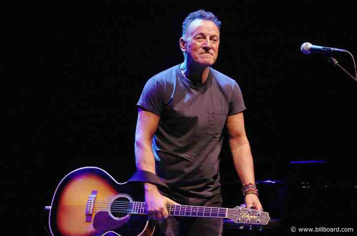 Bruce Springsteen to Return to Broadway For His One-Man Show - Billboard