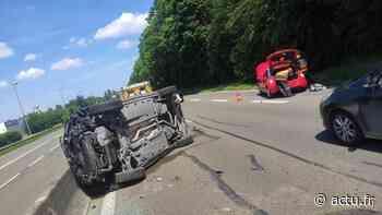 Creil : trois blessés dans un accident entre deux voitures - actu.fr