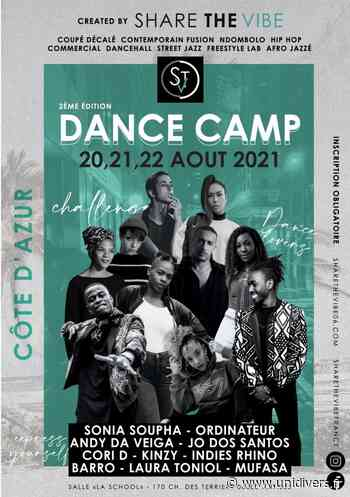 DANCE CAMP 2021 – SHARE THE VIBE La sChOOl Antibes vendredi 20 août 2021 - Unidivers