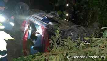 Conductor embriagado se accidentó en la vía Acevedo - Pitalito - Huila