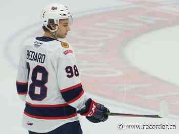 Regina Pats' Connor Bedard named WHL's top rookie - Brockville Recorder and Times