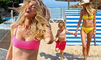 Ronan Keating's wife Storm furiously hits back at trolls who 'skinny shamed' her bikini photos