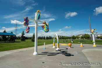 Morinville sinks pavillion; funds splash park reno - St. Albert Today