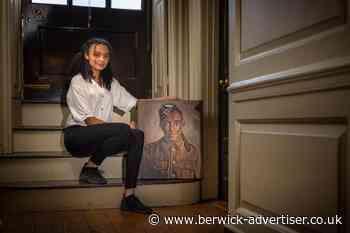 Poignant painting at site - Berwick Advertiser