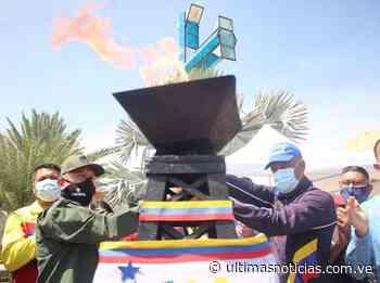 Anzoátegui recibió la Antorcha Bicentenaria en Puerto La Cruz - Últimas Noticias