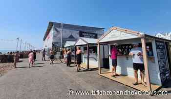 Brighton and Hove News » Hove seafront kiosks granted stay of execution - Brighton and Hove News