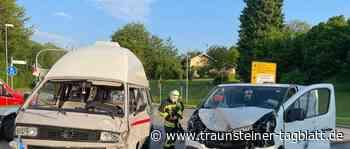 Traunreut: Abbiege-Unfall fordert drei Leichtverletzte - Traunsteiner Tagblatt