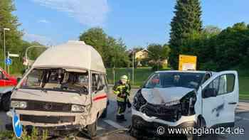 Unfall in Traunreut fordert drei Verletzte - bgland24.de