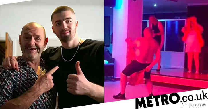 Gogglebox: Tom Malone Jr's hilarious video of his dad stripping cannot be unseen