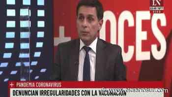 Una confusión con una vacuna en Lanús generó un papelón en la TV - El Diario Sur