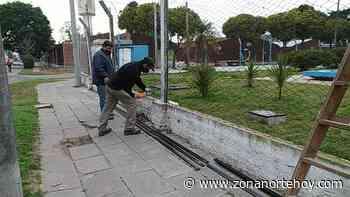 Comenzaron los trabajos en el Estadio Municipal de San Pedro - zonanortehoy.com