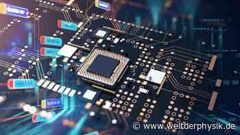 Künstliche Intelligenz designt Computerchip - Welt der Physik