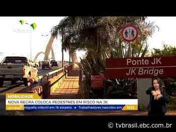 Nova regra coloca pedestres em risco na Ponte JK | Repórter DF | TV Brasil | Notícias - TV Brasil