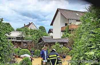 Ebersdorf - Plötzlich schießt das Wasser aus dem Wald - Neue Presse Coburg